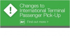 Passenger Pick-Up at the International Terminal Has Changed