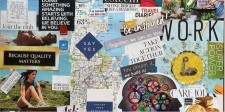 Invitation to Design Your Vision Board for 2018 Success Workshop